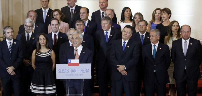 President Piñera Intervenes And Replaces Four Ministers