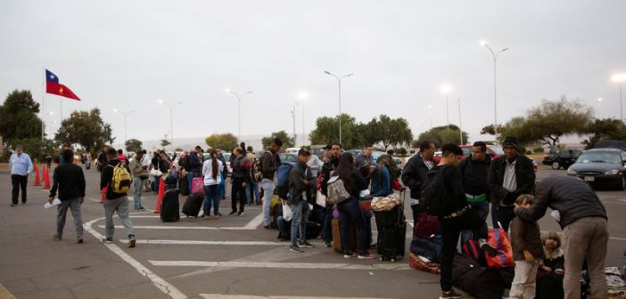 Chile Eases Visa Regulations to Resolve Migrant Crisis at Border